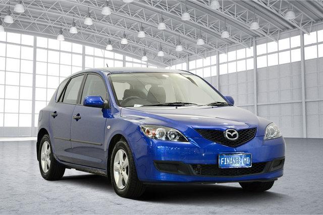 Used Mazda 3 BK10F2 MY08 Neo Sport, 2009 Mazda 3 BK10F2 MY08 Neo Sport Blue 4 Speed Sports Automatic Hatchback