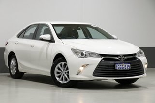 2017 Toyota Camry ASV50R MY16 Altise White 6 Speed Automatic Sedan.