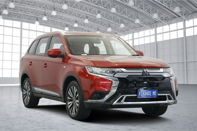 Used Mitsubishi Outlander ZL MY19 ES AWD, 2018 Mitsubishi Outlander ZL MY19 ES AWD Red 6 Speed Constant Variable Wagon