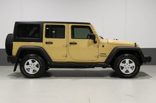 2014 Jeep Wrangler Unlimited JK MY13 Sport (4x4) Yellow 6 Speed Manual Softtop