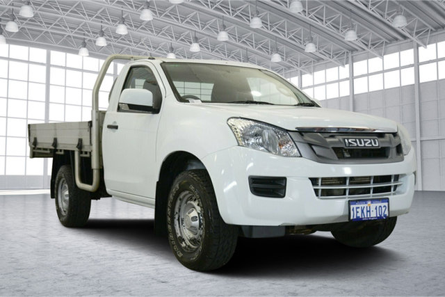 Used Isuzu D-MAX MY14 SX, 2013 Isuzu D-MAX MY14 SX White 5 Speed Sports Automatic Cab Chassis