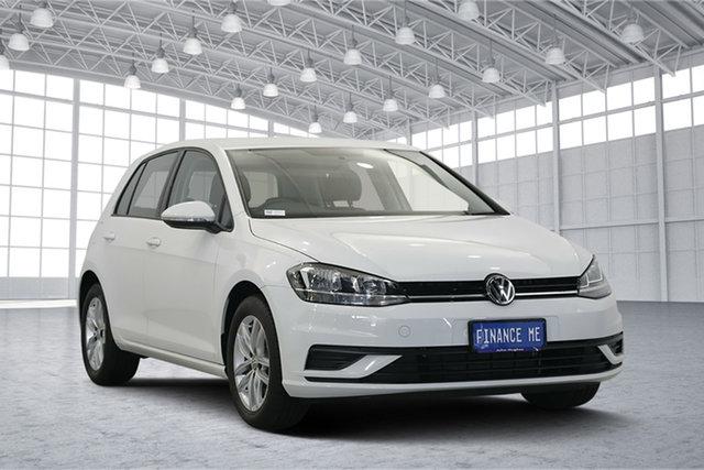 Used Volkswagen Golf 7.5 MY18 110TSI, 2018 Volkswagen Golf 7.5 MY18 110TSI White 6 Speed Manual Hatchback