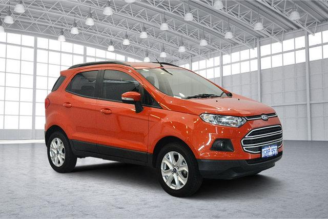 Used Ford Ecosport BK Trend PwrShift, 2017 Ford Ecosport BK Trend PwrShift Orange 6 Speed Sports Automatic Dual Clutch Wagon