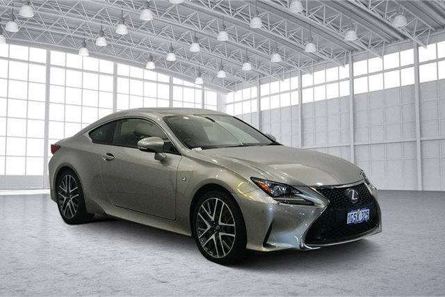 Used Lexus RC GSC10R RC350 F Sport, 2016 Lexus RC GSC10R RC350 F Sport Titanium 8 Speed Sports Automatic Coupe