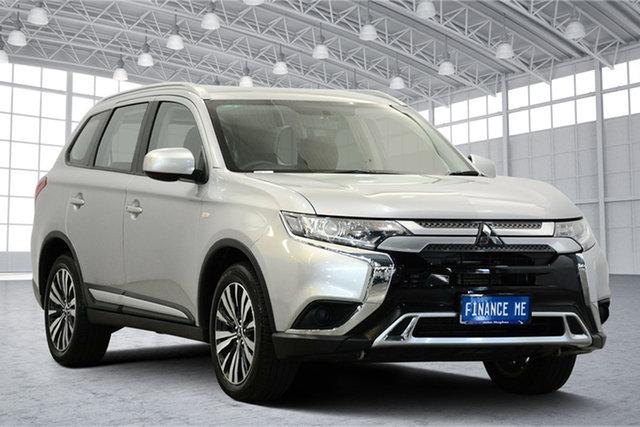 Used Mitsubishi Outlander ZL MY19 ES AWD, 2018 Mitsubishi Outlander ZL MY19 ES AWD Sterling Silver 6 Speed Constant Variable Wagon