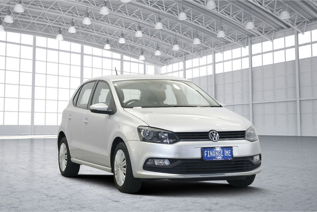 Used Volkswagen Polo 6R MY15 66TSI Trendline, 2015 Volkswagen Polo 6R MY15 66TSI Trendline Reflex Silver 5 Speed Manual Hatchback