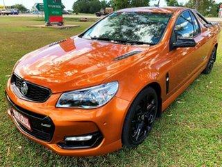 2017 Holden Ute VF II MY17 SS V Ute Redline Orange 6 Speed Sports Automatic Utility