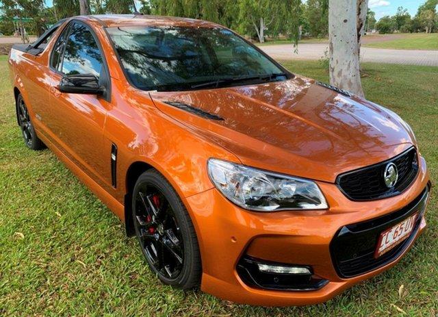 Used Holden Ute VF II MY17 SS V Ute Redline, 2017 Holden Ute VF II MY17 SS V Ute Redline Orange 6 Speed Sports Automatic Utility