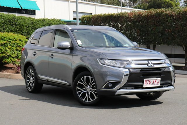 Used Mitsubishi Outlander ZK MY17 LS 2WD Safety Pack, 2017 Mitsubishi Outlander ZK MY17 LS 2WD Safety Pack 6 Speed Constant Variable Wagon
