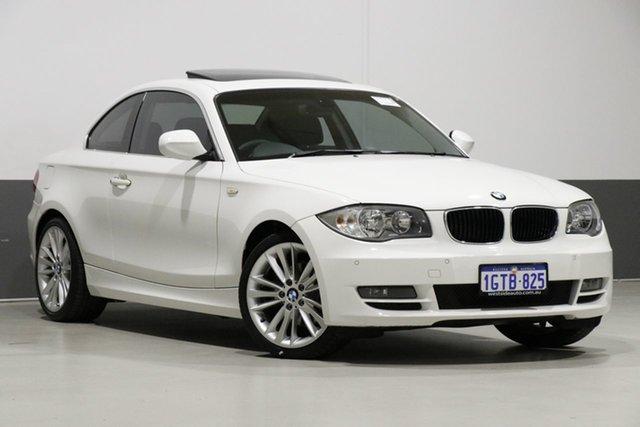 Used BMW 125i E82 MY09 , 2010 BMW 125i E82 MY09 White 6 Speed Automatic Coupe