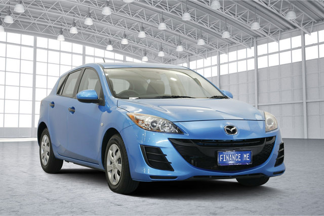 Used Mazda 3 BL10F2 Neo Activematic, 2011 Mazda 3 BL10F2 Neo Activematic Blue 5 Speed Sports Automatic Hatchback