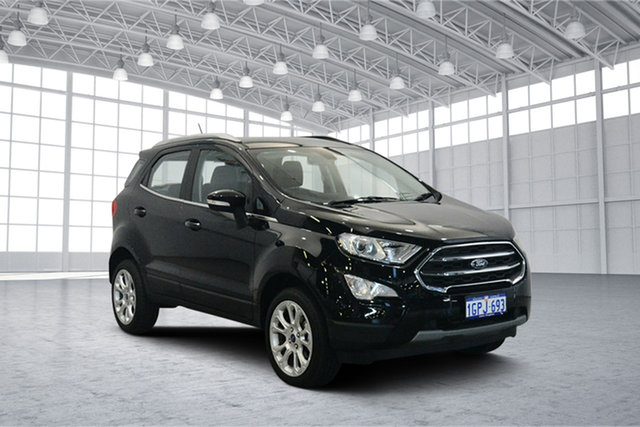 Used Ford Ecosport BL Titanium, 2018 Ford Ecosport BL Titanium Shadow Black 6 Speed Automatic Wagon