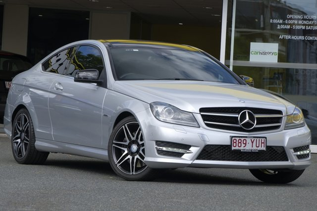 Used Mercedes-Benz C250 C204 MY13 7G-Tronic +, 2013 Mercedes-Benz C250 C204 MY13 7G-Tronic + Silver 7 Speed Sports Automatic Coupe