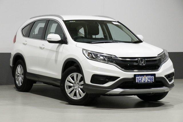 Used Honda CR-V 30 Series 2 MY17 VTi (4x4), 2017 Honda CR-V 30 Series 2 MY17 VTi (4x4) White 5 Speed Automatic Wagon