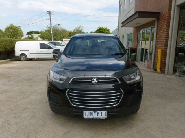 Used Holden Captiva CG MY17 LS 2WD, 2016 Holden Captiva CG MY17 LS 2WD Black 6 Speed Sports Automatic Wagon