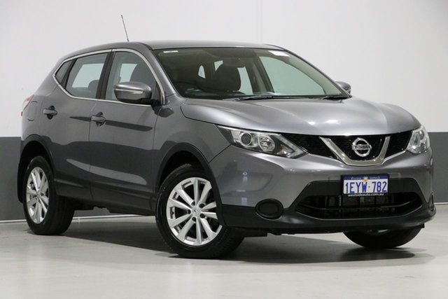 Used Nissan Qashqai J11 ST, 2014 Nissan Qashqai J11 ST Grey Continuous Variable Wagon