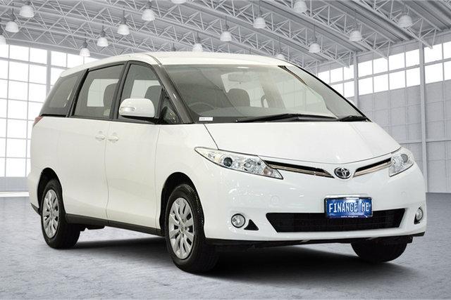 Used Toyota Tarago ACR50R GLi, 2017 Toyota Tarago ACR50R GLi White 7 Speed Constant Variable Wagon