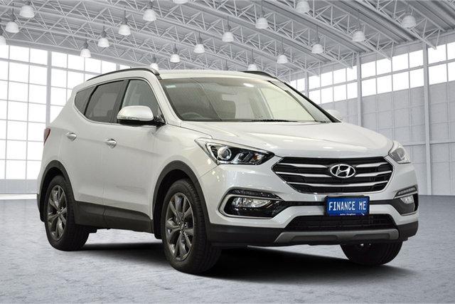 Used Hyundai Santa Fe DM3 MY17 Active X 2WD, 2017 Hyundai Santa Fe DM3 MY17 Active X 2WD Silver 6 Speed Sports Automatic Wagon