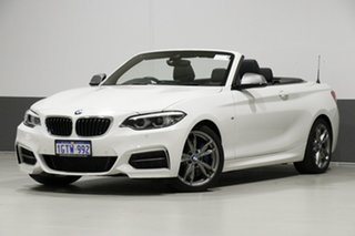 2018 BMW M240i F23 MY18 M240I Alpine White 8 Speed Automatic Convertible.