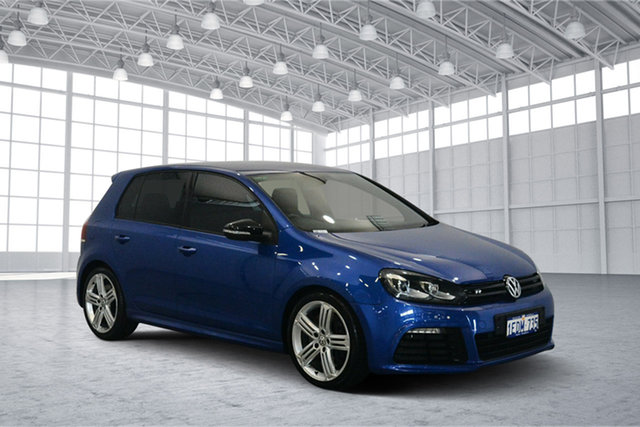 Used Volkswagen Golf VII MY14 R DSG 4MOTION, 2013 Volkswagen Golf VII MY14 R DSG 4MOTION Rising Blue 6 Speed Sports Automatic Dual Clutch