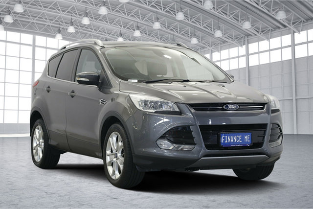Used Ford Kuga TE Trend AWD, 2013 Ford Kuga TE Trend AWD Sterling Grey 5 Speed Sports Automatic Wagon