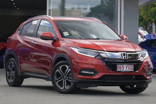 Demo Honda HR-V MY19 VTi-LX, 2019 Honda HR-V MY19 VTi-LX Passion Red 1 Speed Constant Variable Hatchback