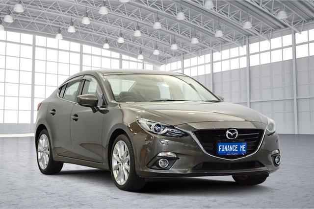 Used Mazda 3 BM5236 SP25 SKYACTIV-MT GT, 2015 Mazda 3 BM5236 SP25 SKYACTIV-MT GT Grey 6 Speed Manual Sedan