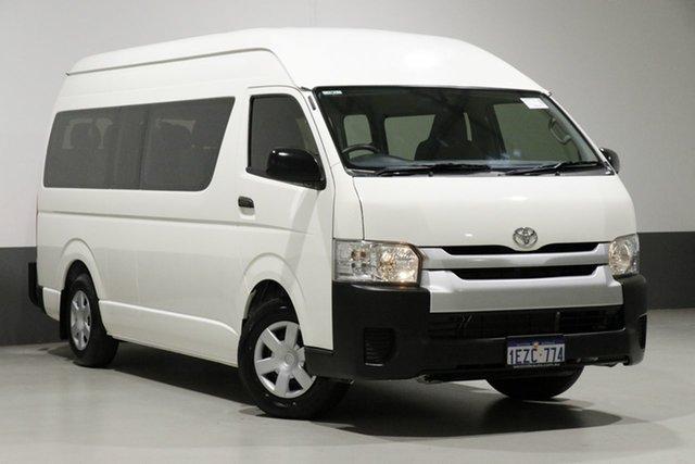 Used Toyota HiAce TRH223R MY16 Commuter, 2017 Toyota HiAce TRH223R MY16 Commuter White 6 Speed Automatic Bus
