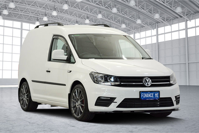 Used Volkswagen Caddy 2KN MY18 TDI250 SWB DSG, 2017 Volkswagen Caddy 2KN MY18 TDI250 SWB DSG White 6 Speed Sports Automatic Dual Clutch Van