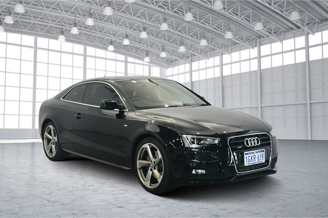 Used Audi A5 F5 MY17 Sport S Tronic, 2017 Audi A5 F5 MY17 Sport S Tronic Black 7 Speed Sports Automatic Dual Clutch Coupe