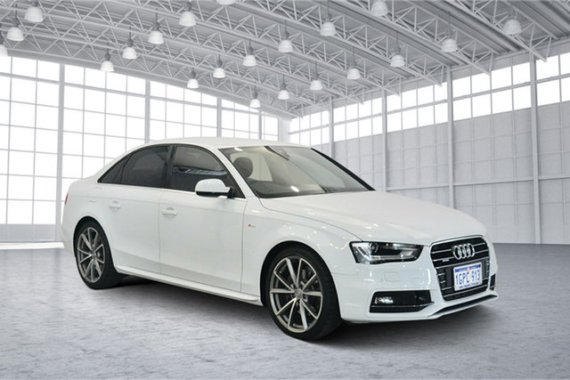 Used Audi A4 B9 8W MY16 Sport S Tronic Quattro, 2016 Audi A4 B9 8W MY16 Sport S Tronic Quattro White 7 Speed Sports Automatic Dual Clutch Sedan
