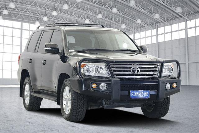 Used Toyota Landcruiser VDJ200R MY13 VX, 2015 Toyota Landcruiser VDJ200R MY13 VX Black 6 Speed Sports Automatic Wagon