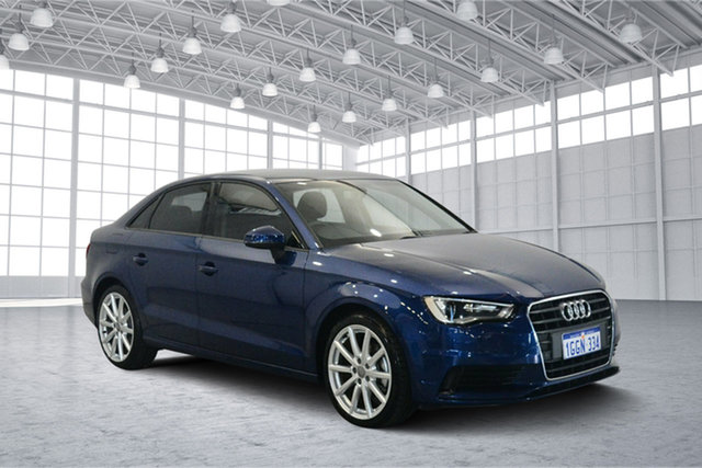Used Audi A3 8V MY16 Attraction S Tronic, 2016 Audi A3 8V MY16 Attraction S Tronic Blue 7 Speed Sports Automatic Dual Clutch Sedan