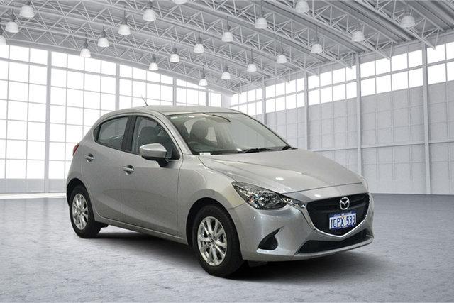 Used Mazda 2 DJ2HAA Maxx SKYACTIV-Drive, 2018 Mazda 2 DJ2HAA Maxx SKYACTIV-Drive Silver 6 Speed Sports Automatic Hatchback