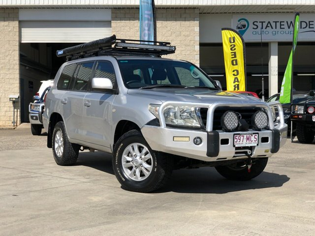 Used Toyota Landcruiser VDJ200R GXL, 2009 Toyota Landcruiser VDJ200R GXL Silver 6 Speed Sports Automatic Wagon