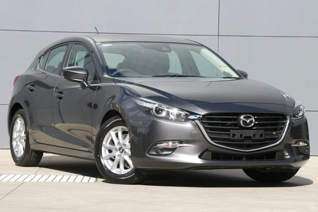 New Mazda 3 BN5478 Touring SKYACTIV-Drive, 2018 Mazda 3 BN5478 Touring SKYACTIV-Drive Machine Grey 6 Speed Sports Automatic Hatchback