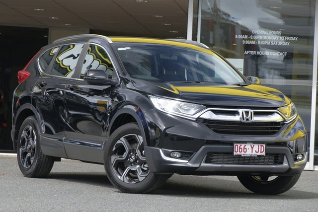 Used Honda CR-V RW MY18 VTi-S 4WD, 2018 Honda CR-V RW MY18 VTi-S 4WD Crystal Black 1 Speed Constant Variable Wagon