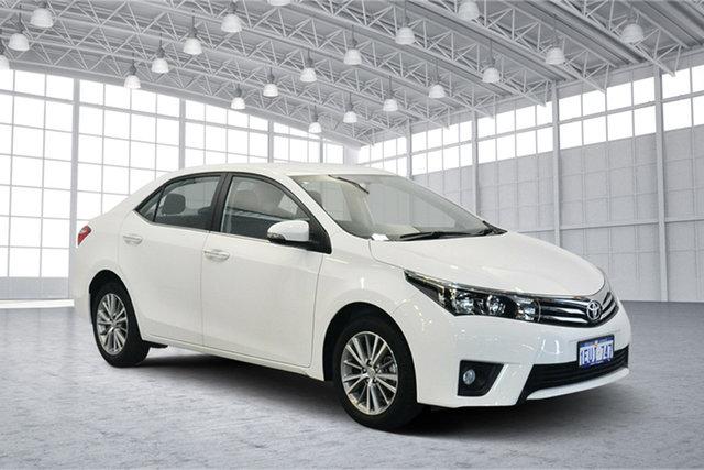 Used Toyota Corolla ZRE172R SX S-CVT, 2015 Toyota Corolla ZRE172R SX S-CVT White 7 Speed Constant Variable Sedan