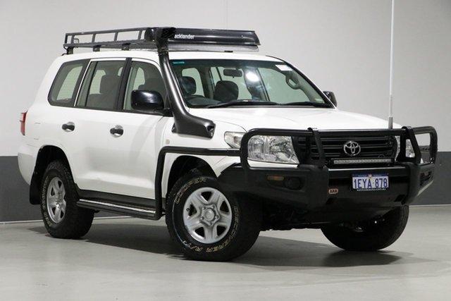 Used Toyota Landcruiser VDJ200R MY13 GX (4x4), 2013 Toyota Landcruiser VDJ200R MY13 GX (4x4) White 6 Speed Automatic Wagon