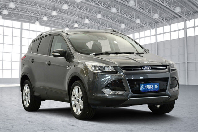 Used Ford Kuga TF Trend AWD, 2014 Ford Kuga TF Trend AWD Grey 6 Speed Sports Automatic Wagon