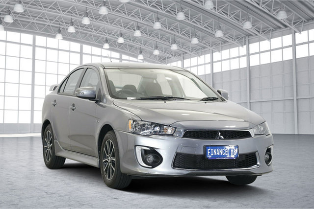 Used Mitsubishi Lancer CF MY17 ES Sport, 2017 Mitsubishi Lancer CF MY17 ES Sport Titanium 6 Speed Constant Variable Sedan