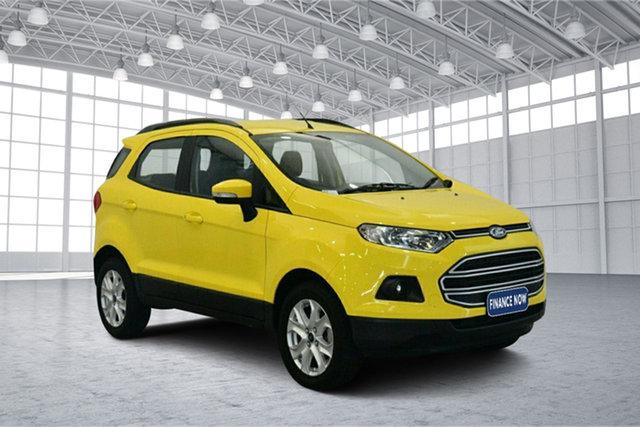 Used Ford Ecosport BK Trend PwrShift, 2017 Ford Ecosport BK Trend PwrShift Bright Yellow 6 Speed Sports Automatic Dual Clutch Wagon