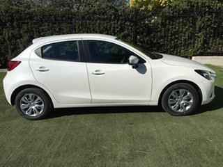 2019 Mazda 2 DJ2HAA Neo SKYACTIV-Drive White Pearl 6 Speed Sports Automatic Hatchback.