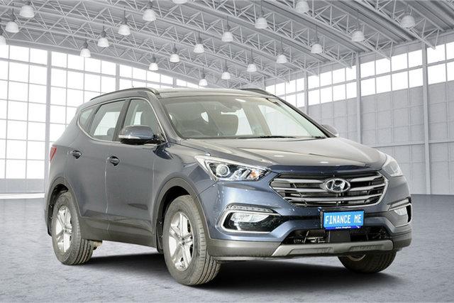 Used Hyundai Santa Fe DM5 MY18 Active, 2018 Hyundai Santa Fe DM5 MY18 Active Ocean View 6 Speed Sports Automatic Wagon