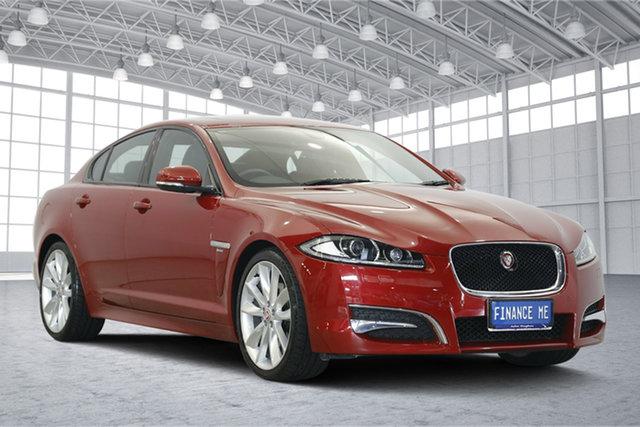 Used Jaguar XF X250 MY15 R-Sport, 2015 Jaguar XF X250 MY15 R-Sport Red 8 Speed Sports Automatic Sedan