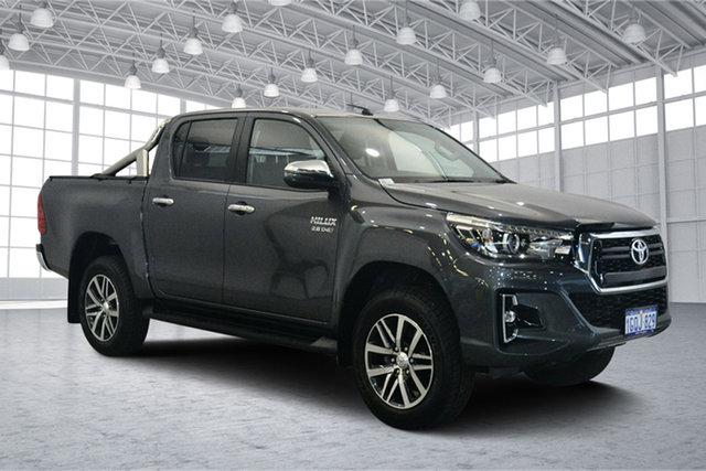 Used Toyota Hilux GUN126R SR5 Double Cab, 2018 Toyota Hilux GUN126R SR5 Double Cab Gun Metal 6 Speed Sports Automatic Utility