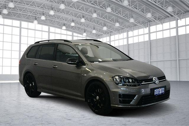 Used Volkswagen Golf VII MY16 R DSG 4MOTION Wolfsburg Edition, 2015 Volkswagen Golf VII MY16 R DSG 4MOTION Wolfsburg Edition Limestone Grey 6 Speed
