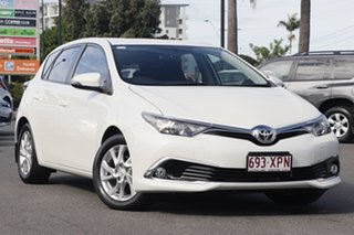 2017 Toyota Corolla ZRE182R Ascent Sport S-CVT Crystal White Pearl 7 Speed Constant Variable.