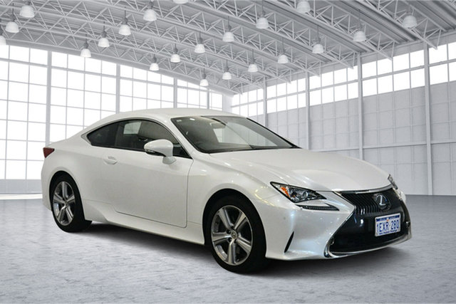 Used Lexus RC GSC10R RC350 Luxury, 2015 Lexus RC GSC10R RC350 Luxury White 8 Speed Sports Automatic Coupe