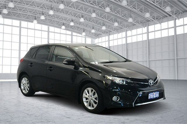Used Toyota Corolla ZRE182R Ascent Sport S-CVT, 2014 Toyota Corolla ZRE182R Ascent Sport S-CVT Black 7 Speed Constant Variable Hatchback
